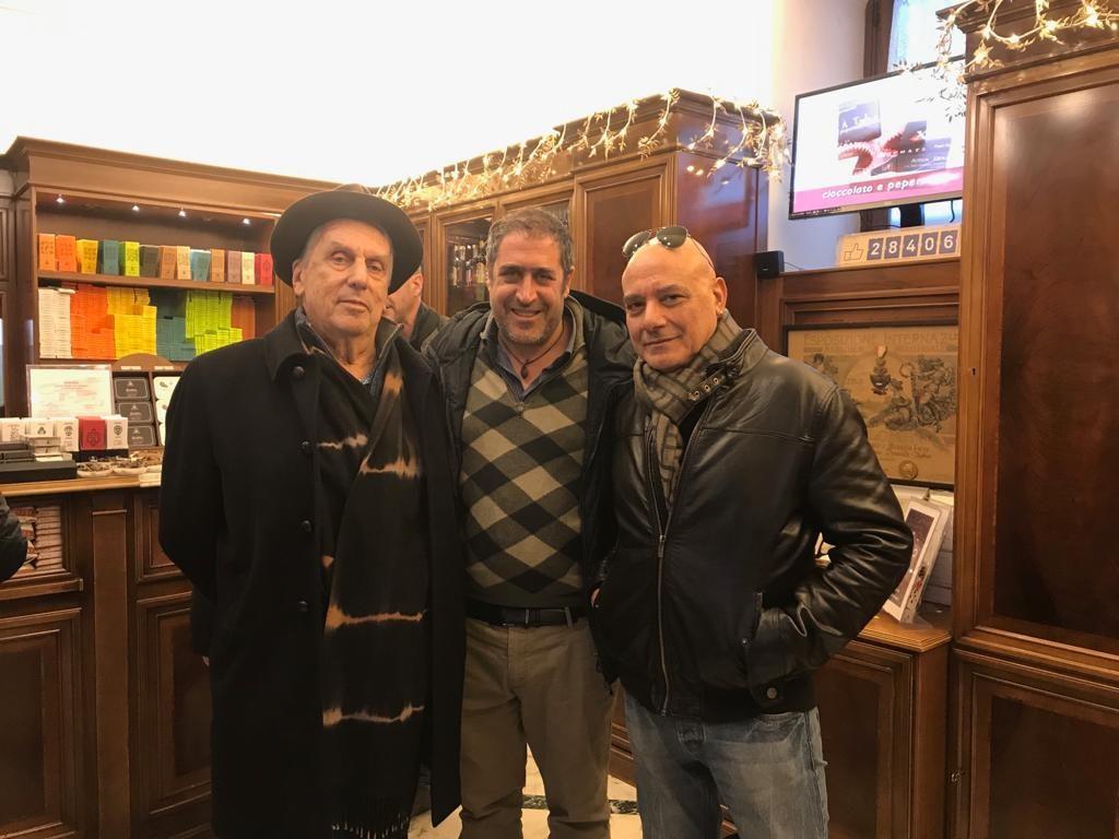 Alessandro Quasimodo, Pierpaolo Ruta e Lorenzo Maria Bottari