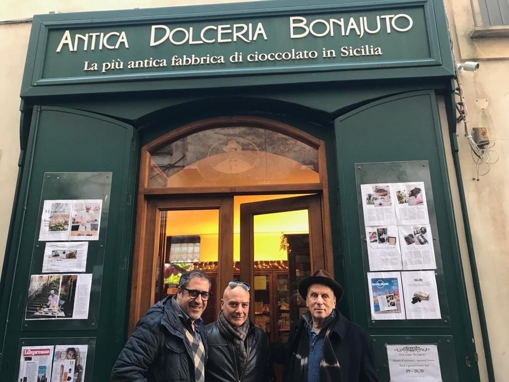 Pierpaolo Ruta, Lorenzo Maria Bottari e Alessandro Quasimodo