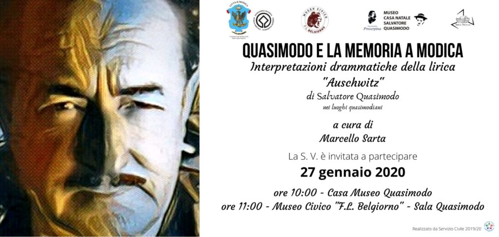 Invito a Quasimodo e la Memoria a Modica